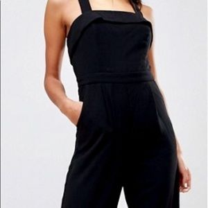 Adelyn Rae women's black jumpsuit.